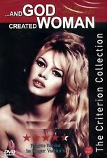 And God Created Woman - Region 2 Compatible DVD (UK seller!!!) Brigitte NEW