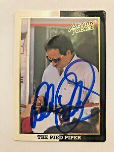 Dale Earnhardt Sr NASCAR 1994 Action Packed #27 Autographed Signed