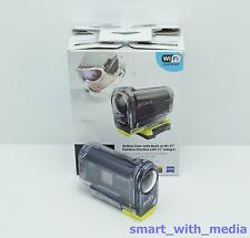 SONY ACTION CAM HDR-AS15 CAMCORDER BOXED WIFI HIGH DEFINITION UNDERWATER ETC