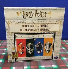 New Buffalo Harry Potter House Crests 300 Pc. Jigsaw Puzzle