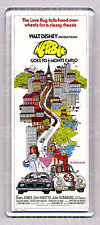 HERBIE GOES TO MONTE CARLO movie poster large FRIDGE MAGNET -  CLASSIC !
