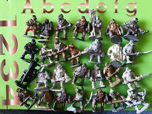 21x N11 Black Orc vintage chronicle miniatures via  citadel gw nick lund orcs