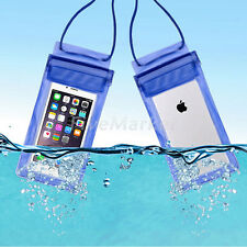 Waterproof Underwater Pouch Dry Bag Case Cover For iPhone 6 6s SE 5 5s Samsung