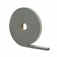 "M-D 02311 1/2"" X 10' Gray Waterproof & Airtight Foam Tape Weather Strip 5-pk"