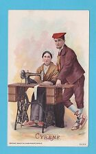 NATIONS - SINGER SEWING - RARE NATIONS / ADVERTISING CARD -  CYRENE  - 1894