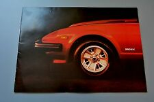 Sales Brochure Datsun 280ZX, 1980 UK