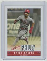 2019 Topps Welcome to Philly #BH-6 Bryce Harper Philadelphia Phillies
