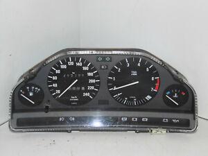 Bmw E30 Tacho mit Drehzahlmesser 55l VDO 1385361 Cluster Limo Cabrio Coupe 12/87