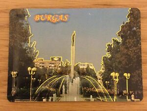 Fridge Magnet Burgas Bulgaria