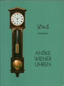 D&S Antike Wiener Uhren Verkaufsausstellung 1992 Clocks Catalogue English J4.630