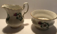 Hamilton Creamer And Sugar Bowl Made In England