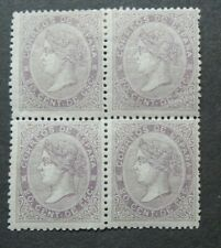 CLASSIC QUEEN 20C BLOCK OF 4 STAMPS 1 STAMP VF MNH SPAIN ESPAGNE W9.50 0.99$