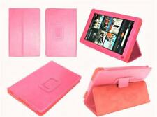 Kindle Fire 7 (NOT HD) 2012 Flip Case Smart Cover Pink Magnetic Leather Stand