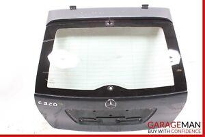02-04 Mercedes W203 C320 Wagon Trunk Lid Tailgate Hatch Shell Glass Green OEM