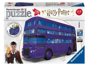 Harry Potter Knight Bus  3D Jigsaw Puzzles 280pc Foam Backed Jigsaw