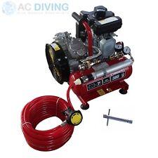 Nardi Diving Hookah / Compressor. Extreme Petrol with Hose & Regulator 380lpm