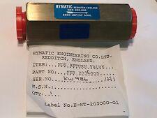 Hymatic 203-005 Sin Retorno Válvula 6000 lbf/en nueva bsc8bl