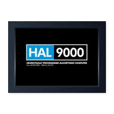 HAL 9000, Framed Or Frameless Print Poster - Space Odyssey Inspired Wall Art