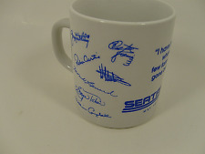 Star Trek SEATREK Cruise Trek 1989 Guest Signed Event Ceramic Mug NEW