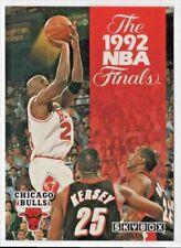 92 NBA Finals Chicago Bulls Michael Jordan Trail Blazers Basketball Game 1-6 DVD