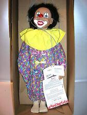 Sigikid Künstlermarionette Clown von Gabriele Brill  Limitiert 56/1000