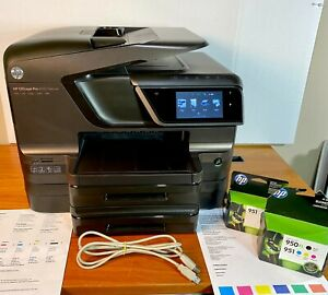 HP Officejet Pro 8600 Premium e-All-in-One Printer w/2nd Tray/Ink/Duplexer