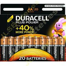 20 (1 x 20 paquetes) Duracell Más AA MN1500 LR6 PILAS 1.5v ALCALINA