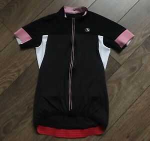 Giordana Jersey Suite Velo Black White Pink FRC Size S Bike