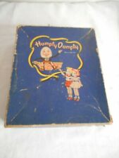 Antique 1930s 1940s Vintage Humpty Dumpty Box Display decor Country Store Advert