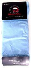 PAIRE DE COLLANTS FILLE 134-146cm fin bleu ciel semi-opaque 40den MAXIMO NEUF