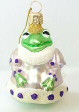 Patricia Breen Frog Princess Christmas Ornament