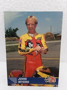 1991 Pro Set John Myers Trading Card Nhra
