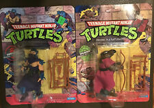 Teenage Mutant Ninja Turtles 1990 SPLINTER & SHREDDER Unpunched TMNT MOC