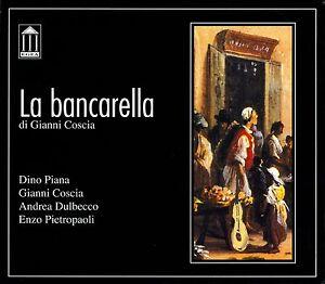 GIANNI COSCIA - LA BANCARELLA - CD NUOVO SIGILLATO DINO PIANA DULBECCO