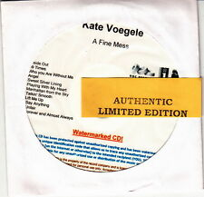 kate voegele  limited edition cd