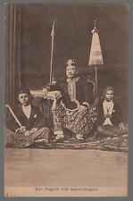 1913 Netherlands Indies RPPC Postcard Cover to Newfoundland Regent Grace Royalty