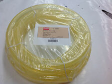 "Dayton 1Dyx7 Round Belt Solid Core 3/4"" Dia, 50 Ft Clear, Shore 90A Hardness"
