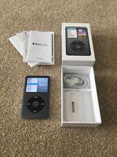 Apple iPod Clásico 7th Generación Negro (160GB) en caja 81 horas De Uso