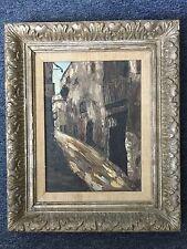 "Artwork ""Rain"" Oil Painting"