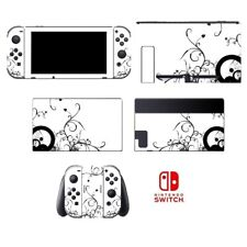Black & White 057 Vinyl Skin Joy-Con Sticker for Nintendo Switch Decal Protector