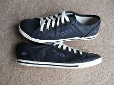 Dockers By Gerli Women's Blue Faux Leather Athletic Shoes - Size 39 EUR/ 8.5 US