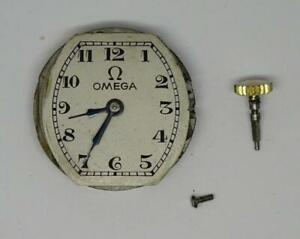 Vintage c1929 Omega Movement Caliber,20.30mm, Cal 9 s?, Repairs/Spares
