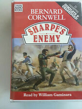 Bernard Cornwell Sharpes enemy 10 Audio Cassettes