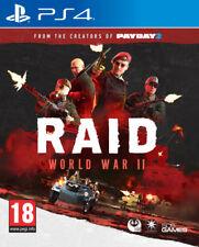 RAID: World War II 2 | PlayStation 4 PS4 New