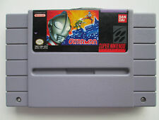 Ultraman: Towards the Future (Super Nintendo SNES, 1991) Game Only--Tested