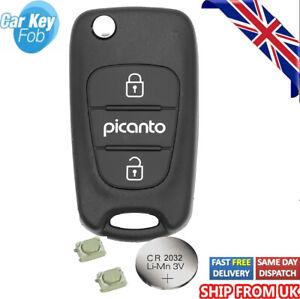 for Kia Picanto 2 Button KEY FOB REMOTE Key FOB Repair Fix Kit
