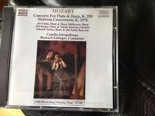 Mozart: Concerto for Flute & Harp Sinfonia Concertante K297b. Czech Forces Naxos