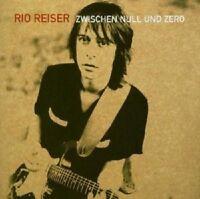 """RIO REISER """"ZWISCHEN NULL UND ZERO"""" 2 CD NEUWARE"""