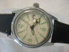 Vintage large antique DIVE DIVER DIVING WOOLBROOK mens watch
