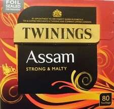 Twinings Assam Strong & Malty Tea Bags 80